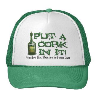 Wine Drinker - Put a CORK in it! Cap