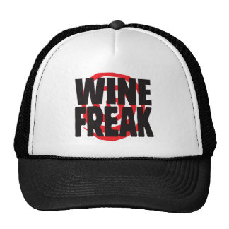 Wine Freak Trucker Hat