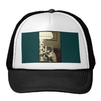 Wine Glass Lucy Mesh Hats