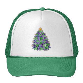 Wine Grapes Christmas Tree Trucker Hat