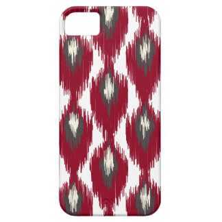 Wine Gray Abstract Tribal Ikat Diamond Pattern Case For The iPhone 5