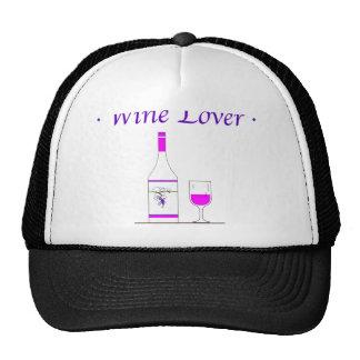 WINE LOVER_PINK CAP