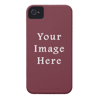 Wine Magenta Color Trend Blank Template iPhone 4 Case