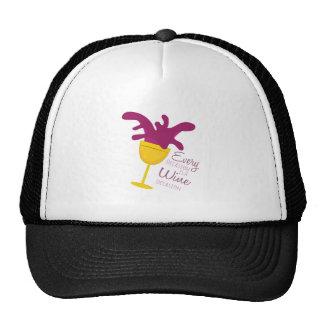 Wine Occasion Hat