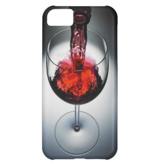 Wine poured in glass iPhone 5C case