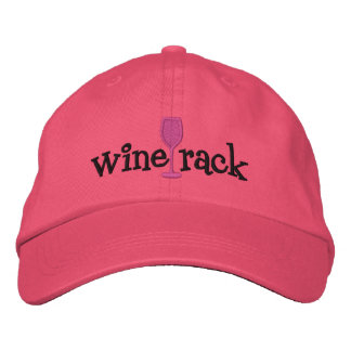 Wine Rack Embroidered Hat