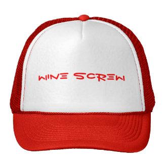 Wine Screw Hats