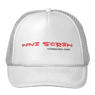 Wine Screw Mesh Hat