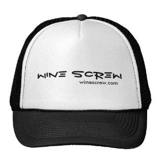 Wine Screw Hat