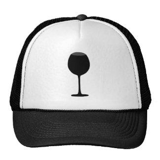 Wine Silhouette Hats