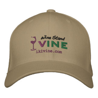 wine Stand VINE original logographic embroidery ca Embroidered Baseball Caps