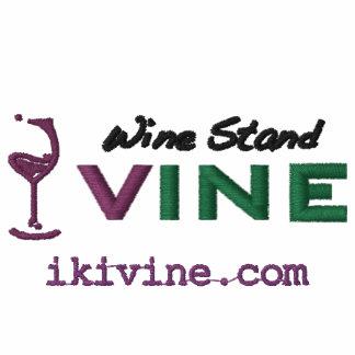 wine Stand VINE original logographic polo shirt