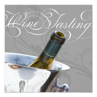 Wine Tasting Dinner Party Invitation