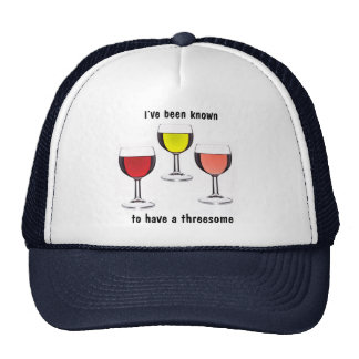 Wine Threesome Cap