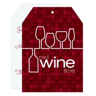 Wine Time Card