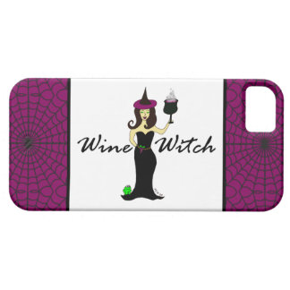 Wine Witch iPhone 5 Case