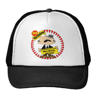 Wine Women Song 95th Birthday Gifts Cap