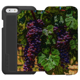 Winery Grapevine sunny tuscany vineyard grapes Incipio Watson™ iPhone 6 Wallet Case