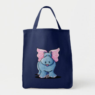 Winged Hippo Gift Tote Bag