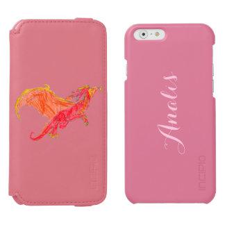 Winged Red Dragon Incipio Watson™ iPhone 6 Wallet Case
