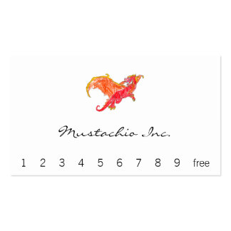 Winged Red Dragon Pack Of Standard Business Cards