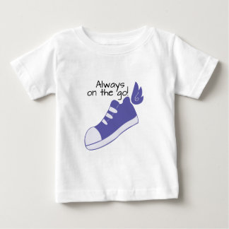 Winged Shoes Always on the Go! Tee Shirts