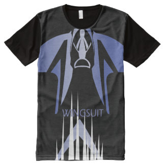 WINGSUIT WS_001 Ponto Central All-Over Print T-Shirt