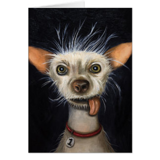 Winner of the Ugly Dog Contest 2011 Card