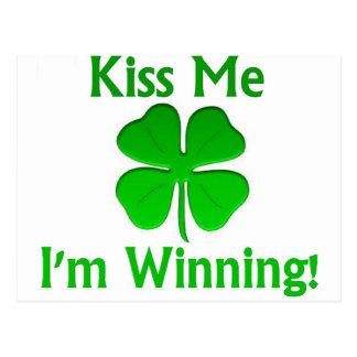 Winning Charlie Sheen St. Patrick's Day Postcard