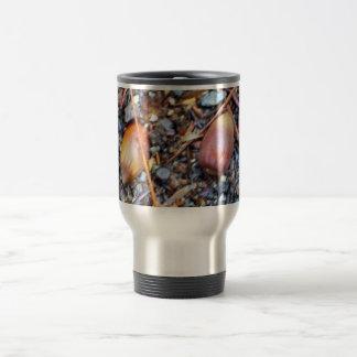 Winter Acorns Travel Mug