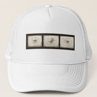Winter and the Sparrow Trucker Hat