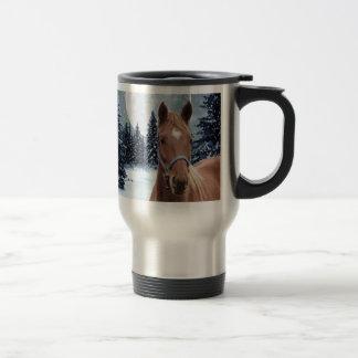 Winter Arabian #2 Travel Mug