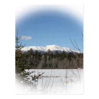 Winter at Katahdin Postcard