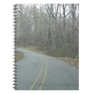 Winter at Natchez Trace Parkway MS Notebook