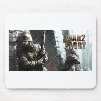 winter battle mouse pad