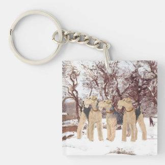 Winter Day Key Ring
