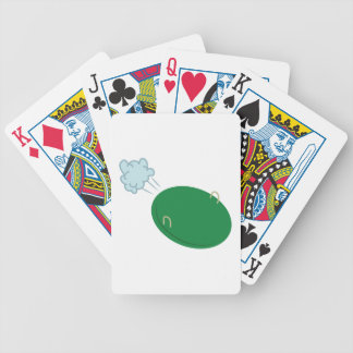 Winter Disc Bicycle Playing Cards