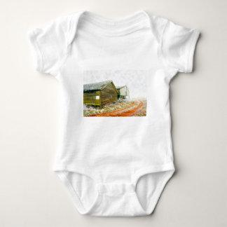 Winter Farm Baby Bodysuit