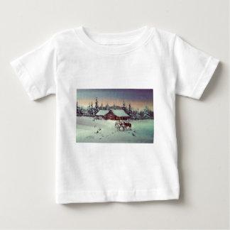 WINTER FARM  by SHARON SHARPE Baby T-Shirt