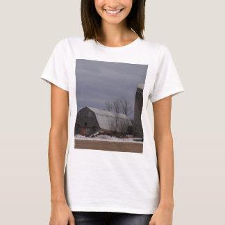 Winter Farm Land T-Shirt