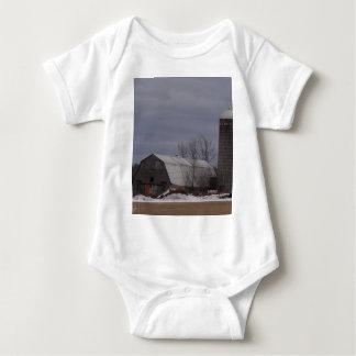 Winter Farm Land T Shirt