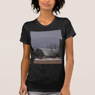 Winter Farm Land Tee Shirt