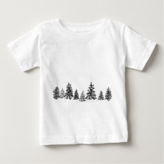 Winter Forest Baby T-Shirt