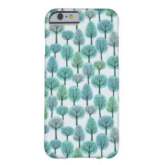 Winter Forest Pattern Barely There iPhone 6 Case