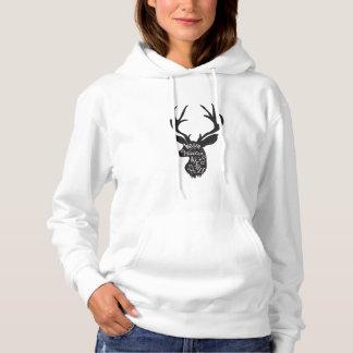 Winter Hoodie - Deer with saying