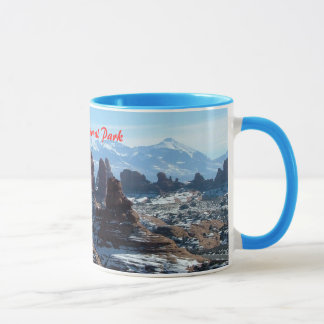 Winter in Arches National Park Mug