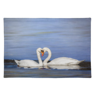 Winter Love Swan Placemats