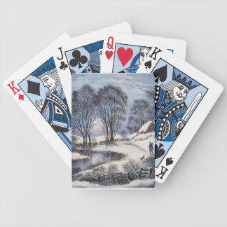 Winter Moonlight Playing Cards