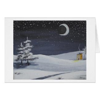 Winter Moonshadows Card