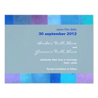 Winter nepal Wedding Save the Date Card